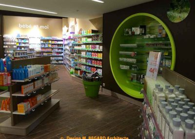 Agencement : Pharmacie de Balata